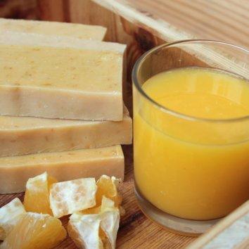Svieže citrusové mydielko