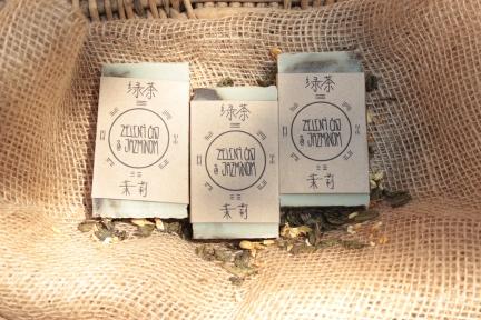 Zelený čaj s jazmínom